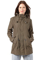 CARHARTT Womens   Clash Parka Cotton Twill Phantom greenlake
