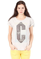 CARHARTT Womens Coal S/S T-Shirt light grey heather/multicolor