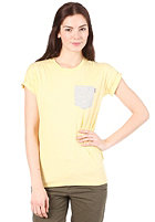 CARHARTT Womens Contrast Pocket S/S T-Shirt spot/light grey heather