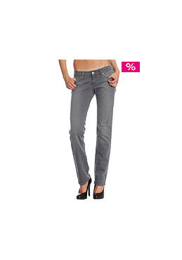 CARHARTT Womens cot/lyc rio grey stretch denim grey antique rinsed