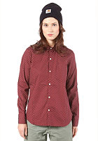 CARHARTT Womens Dots L/S Shirt varnish/broken white
