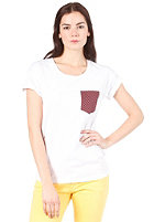 CARHARTT Womens Dots Pocket S/S T-Shirt white/polka print, varnish
