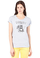 CARHARTT Womens Elephant S/S T-Shirt cirrus heather/black