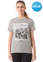 CARHARTT Womens Gin S/S T-Shirt grey heather/multicolor