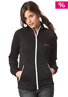 Womens Gym Jacket  Pique black/white