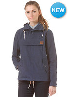 CARHARTT Womens Hayden Jacket blue penny rigid