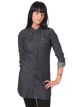 CARHARTT Womens Howdy L/S Dress denim blue rinsed