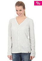 CARHARTT Womens Jersey Cardigan Jacket light grey heather