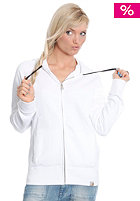 CARHARTT Womens Mellow Hooded Zip Sweat Jacket white/black