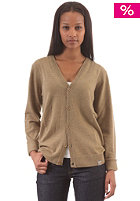 CARHARTT Womens Playoff Cardigan camel heather