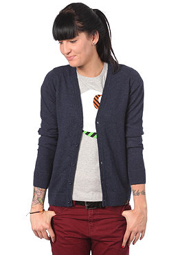 CARHARTT Womens Playoff Cardigan Jacket  navy heather