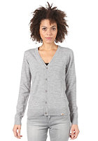 CARHARTT Womens Playoff Wool Cardigan grey