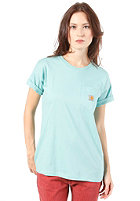 CARHARTT Womens Pocket S/S T-Shirt polynesia