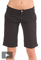 CARHARTT Womens Presenter Bermuda Short Durango Twill black rinsed
