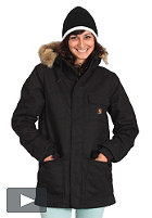 CARHARTT Womens Siberian Parka Jacket canvas black