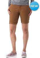 CARHARTT Womens Sid Chino Short hamilton brown rinsed