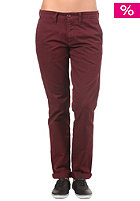 CARHARTT Womens Sid Pant wine stone washed