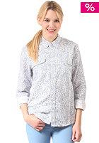 CARHARTT Womens Tame L/S Shirt blue flora print