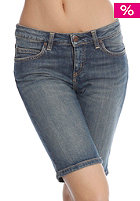 CARHARTT Womens Texas Bermuda Short blue coast washed