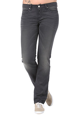 CARHARTT Womens Texas Pant mammoth dark grey stretch color denim dark grey basic wash