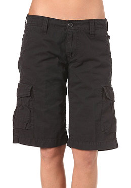 CARHARTT Womens Thrift Bermuda Short Mosquero Twill black craft washed