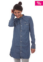 CARHARTT Womens Wanted L/S Dress denim blue bleached