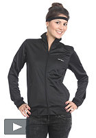 CARHARTT Womens Warm-Up Jacket Dull Tricot black/white