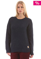 CARHARTT Womens X Anglistic Knit Sweat navy heather