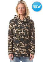 CARHARTT Womens X' Battle Parka camo isle rigid