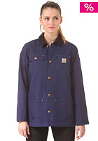 CARHARTT Womens X Chore Coat labor blue/rigid