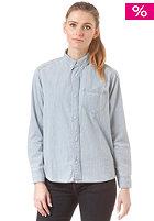 CARHARTT Womens X' Civil L/S Shirt blue stone bleached