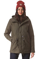 CARHARTT Womens X' Clash Parka cypress fabric washed
