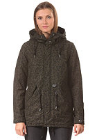 CARHARTT Womens X' Clash Parka panther print, cypress fabric washed