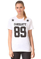 CARHARTT Womens X' Fan S/S T-Shirt white/black