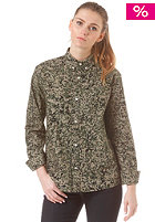 CARHARTT Womens X' Fuller L/S Shirt camo stain green rinsed