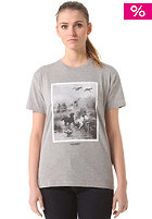 CARHARTT Womens X' Gin S/S T-Shirt grey heather/multicolor