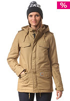 CARHARTT Womens X' Hickman Coat bisque fabric washed