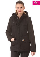 CARHARTT Womens X' Hickman Coat black/fabric washed