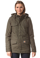 CARHARTT Womens X' Hickman Coat cypress fabric washed