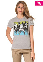 CARHARTT Womens X House Rockin' S/S T-Shirt grey heather/multicolor