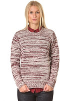 CARHARTT Womens X Jacky Sweater cranberry/snow