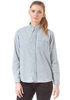 CARHARTT Womens X' L/S Civil Shirt blue stone bleached