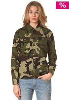CARHARTT Womens X Mission L/S Shirt camo green