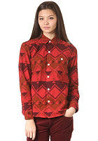 CARHARTT Womens X Native L/S Shirt wine