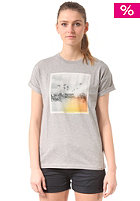CARHARTT Womens X' Palm S/S T-Shirt grey heather/multicolor