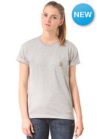CARHARTT Womens X' Pocket S/S T-Shirt grey heather