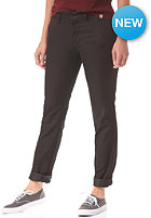 CARHARTT Womens X' Sid Chino Pant black rinsed