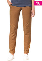 CARHARTT Womens X' Sid Chino Pant hamilton brown