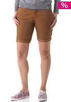 CARHARTT Womens X' Sid Chino Short hamilton brown rinsed