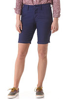 CARHARTT Womens X' Sid Chino Short metro blue rinsed